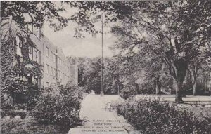 Michigan Orchard Lake St Marys College Dormitory And South End Albertype