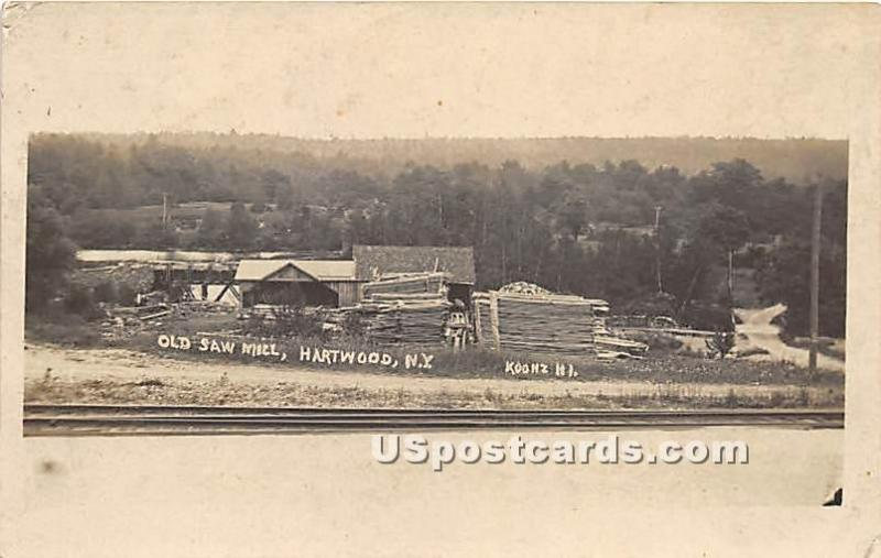 Old Saw Mill Hartwood NY Unused