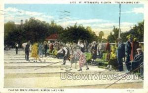 Mirror Lake Park St Petersburg FL 1930