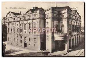 Postcard Old Theater Mulhouse
