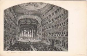 Italy Napoli Teatro Santa Carlo