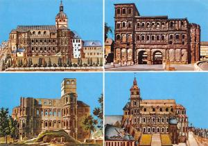 Trier Mosel Die Porta Nigra im Wandel Kirche Church