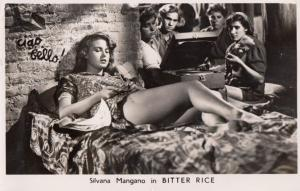 Silvano Mangano in Bitter Rice Vintage Photo