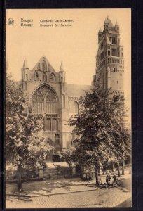 Cathedrale Saint Sauveur,Bruges,Belgium BIN