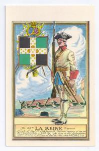 24th La Reine Regiment French Troops Fort Ticonderoga