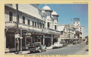 Florida Key West Duval Street Looking East Dexter Press sk5212