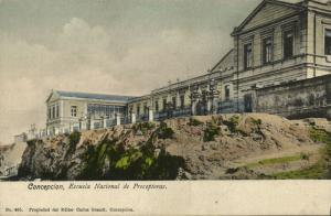 chile, CONCEPCION, Escuela Nacional de Preceptoras, School of Teachers (1910s)