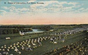 FORT RILEY , Kansas , 1919 ; Camp of Instruction