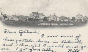 LAKEVILLE , Ct. , 1903 ; Hotchkiss School