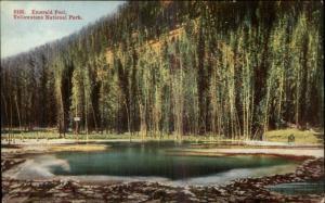 Yellowstone - Emerald Pool c1910 Postcard