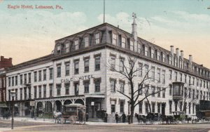 Pennsylvania Lebanon The Eagle Hotel 1910 sk359