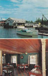 Fishhouse Dining Room, Gordon River Bridge,  Naples,  Florida,   40-60s