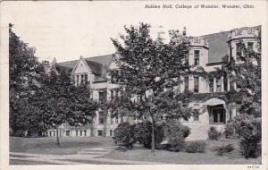 Ohio Wooster Holden Hall College Of Wooster 1934