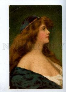 184631 BELLE Lady BLUE Long Hair by ASTI vintage Granberg PC
