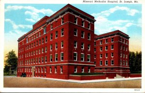 Missouri St Joseph Missouri Methodist Hospital 1941 Curteich