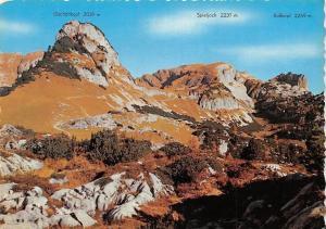 Rofan-Gebirge Tirol, Mountain Spieljoch Rosskopf