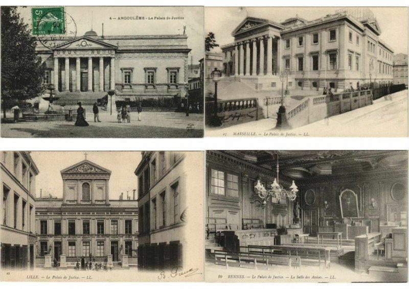 CPA PALAIS DE JUSTICE FRANCE 500 CPA Pre-1940 (L3465)