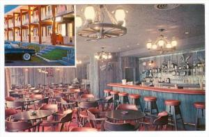 Night View, Dining Room and Bar, Le Longchamp Restaurant, Belvedere Motel, Mo...