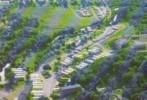 Canada Nova Scotia Antigonish A E Whidden Trailer Court Aerial View