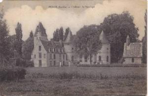 FERCE (Sarthe), France,  00-10s ; Chateau de Vauloge