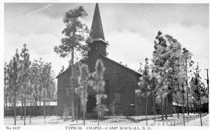 NC - Camp MacKall, Typical Chapel