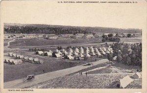 South Carolina Columbia U S National Army Cantonment Camp Jackson