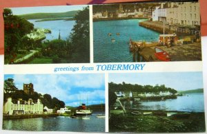 Scotland Greetings from Tobermory Multi-view - unposted