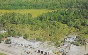 Aerial view,  Lake Huron Hotel,  Spanish  Ontario,  Canada,  40-60s