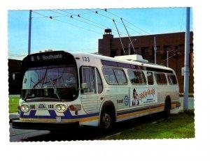 Trolley Coach, Edmonton, Alberta