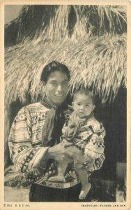 Chicago Illinois Seminoles Father Son Postcard Donnelley RHD CO 20-8114
