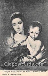 La Virgen de la Servilleta de Murillo Museo de Sevilla Unused