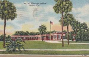 Florida Deland Fish Memorial Hospital 1957 Curteich