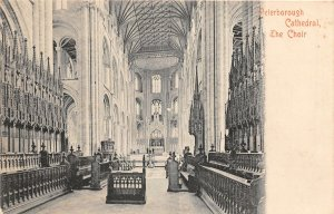 uk40782 peterborough cathedral the choir   uk