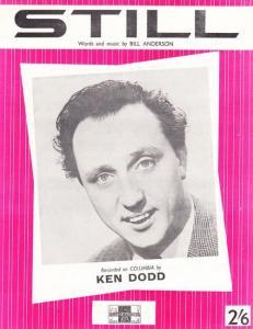Ken Dodd Still 1960s Sheet Music
