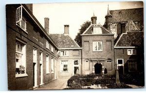 *Jan Pesijnshof Leiden Netherlands South Holland RPPC Vintage Photo Postcard C48