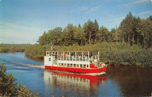 Hulbert Michigan Boat Company~River Excursion Trips~Tahquamenon Falls~1950s PC