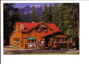 Wooden Sign Entering, Banff, National Park, Alberta Canada
