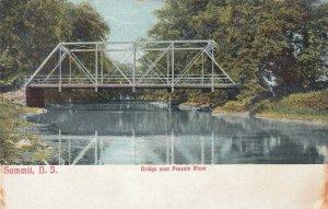 SUMMIT , N.J. , 1900-10s ; Passaic River Bridge