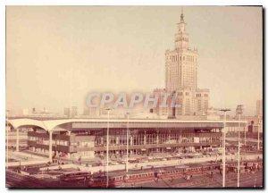 Postcard Modern Warszawa Dworzee certainy