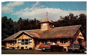 Connecticut Barkhamsted ,  Log House Restaurant