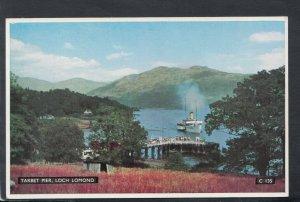 Scotland Postcard - Tarbet Pier, Loch Lomond     T7281