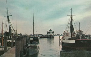 GALILEE , Rhode Island, 40-60s ;  Dusk at Galilee
