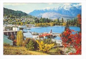 Lake Wakatipu, Queenstown, New Zealand, 50-70s