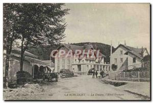 Postcard Old Customs Customs The Customs Schlucht L & # 39hotel french