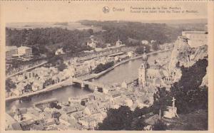 Belgium Dinant Panorama pris de la Tour Montfort