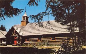 Juneau Alaska~Auk Lake~Chapel-by-the-Lake~1970s Postcard