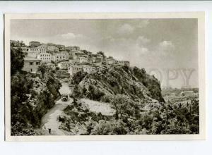 263100 ALBANIA Riviera Dhermi village old Albturist postcard