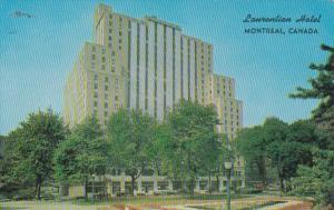 Canada Montreal The Laurentian Sheraton Hotel
