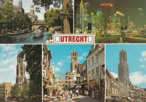 Netherlands Utrecht multi views postcard