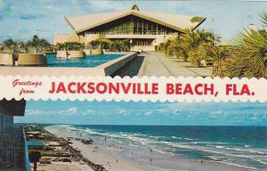 Florida Jacksonville  Greetings From Jacksonville Beach